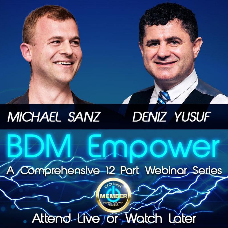 BDM Empower- Webinar Series