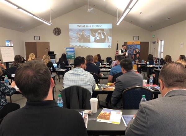 Deniz speaking at 'Geared for Growth Nevada'- September 2018