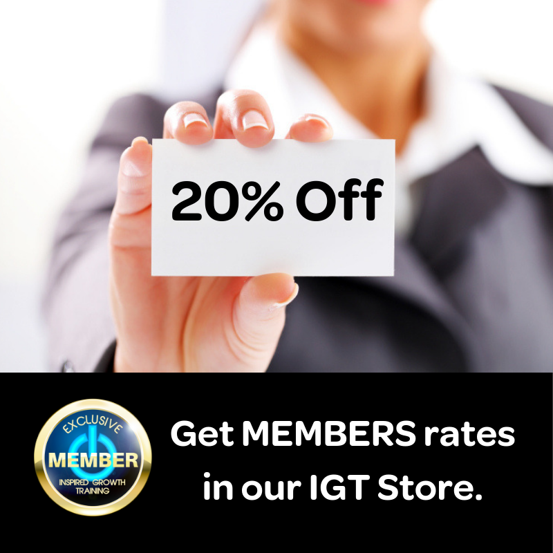 Get member rates in IGT Store