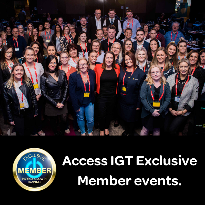Access Exclusive member events