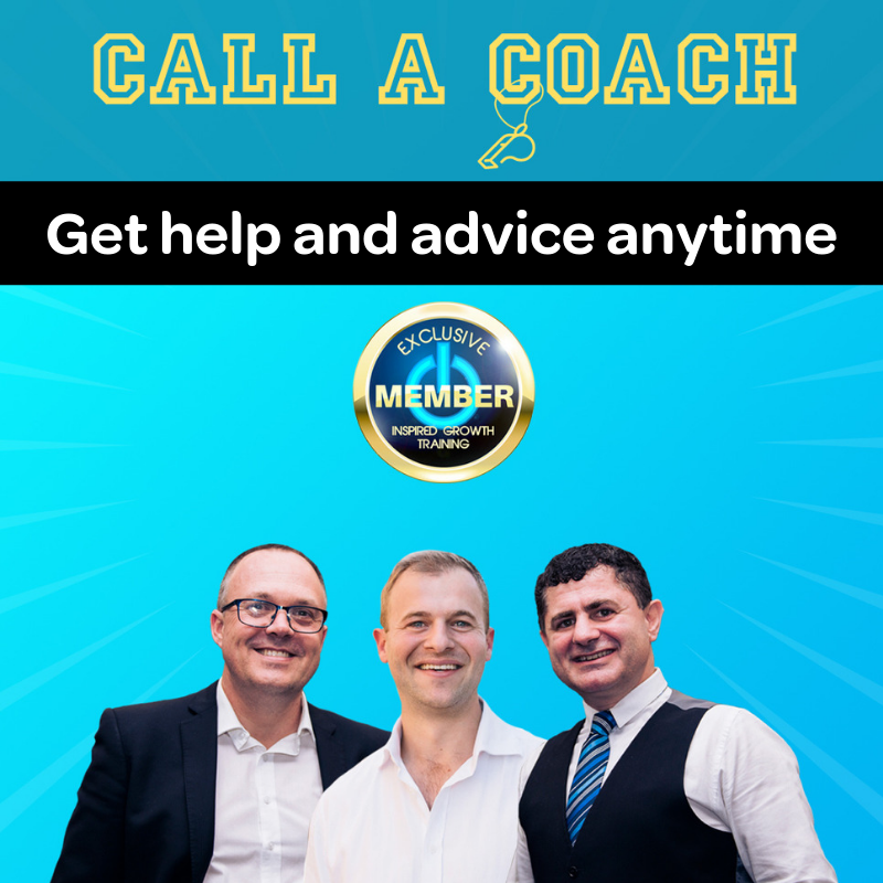 call a coach - get help and advise
