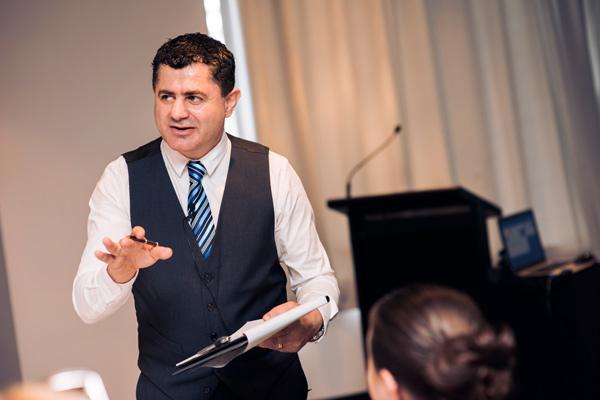 Deniz Yusuf speaking at Masterclass