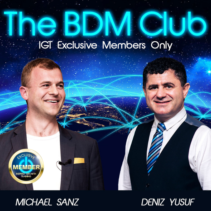 BDM Club training on Zoom for your property management sales team
