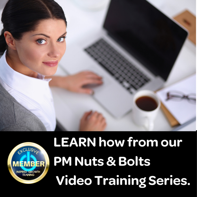 Learn from the very best in PM Nuts and Bolts training with over 14 hours of video training