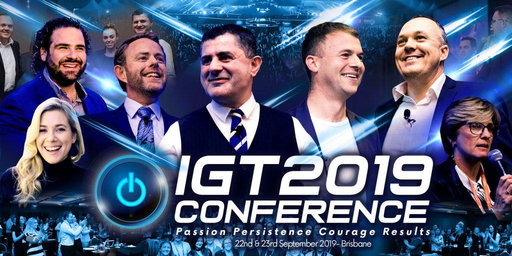 IGT 2019 Conference Sept 22-23 Brisbane Australia