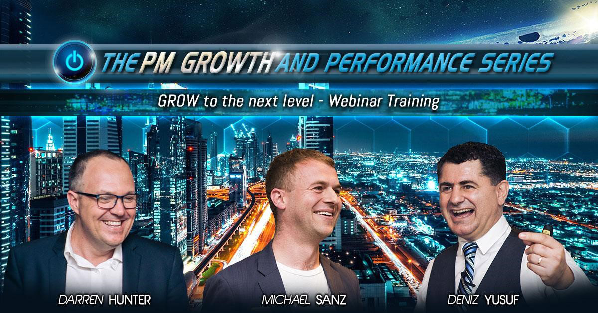 The PM Growth and Performance Webinar Series