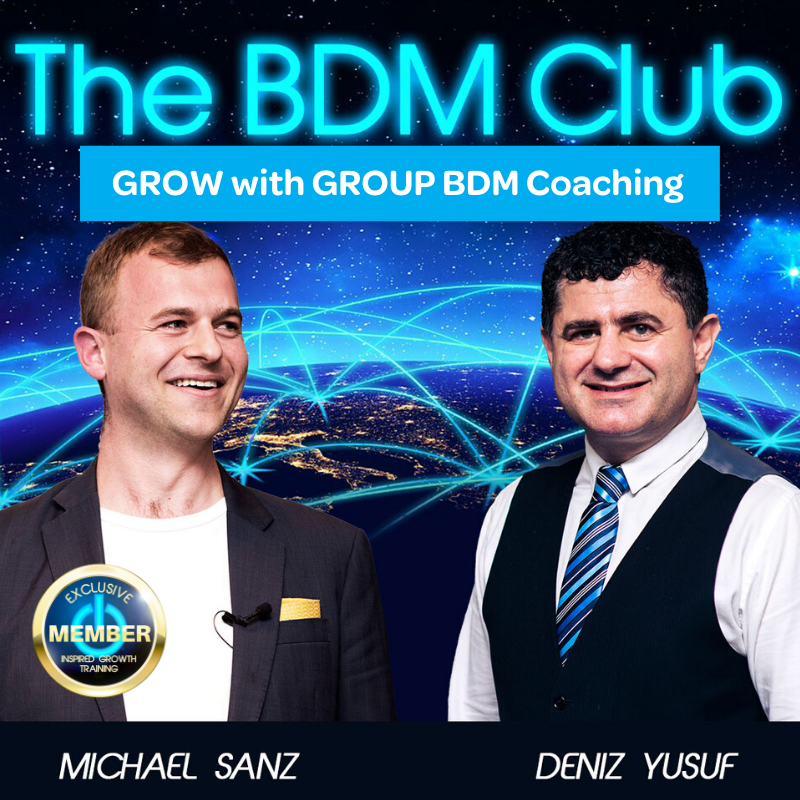 BDM Club- Buddy Up and REACH your BDM Goals