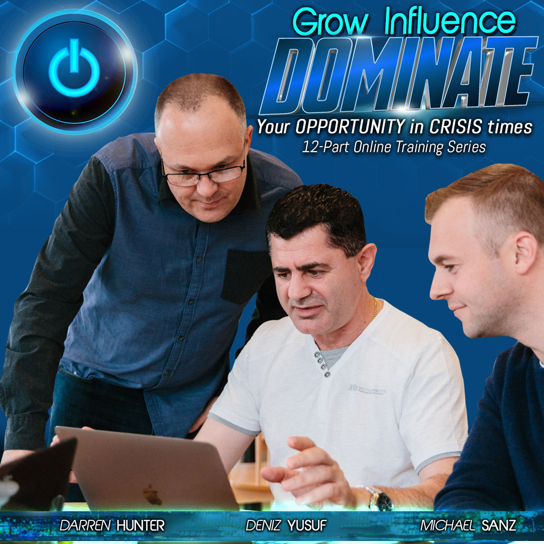 Grow Influence Dominate