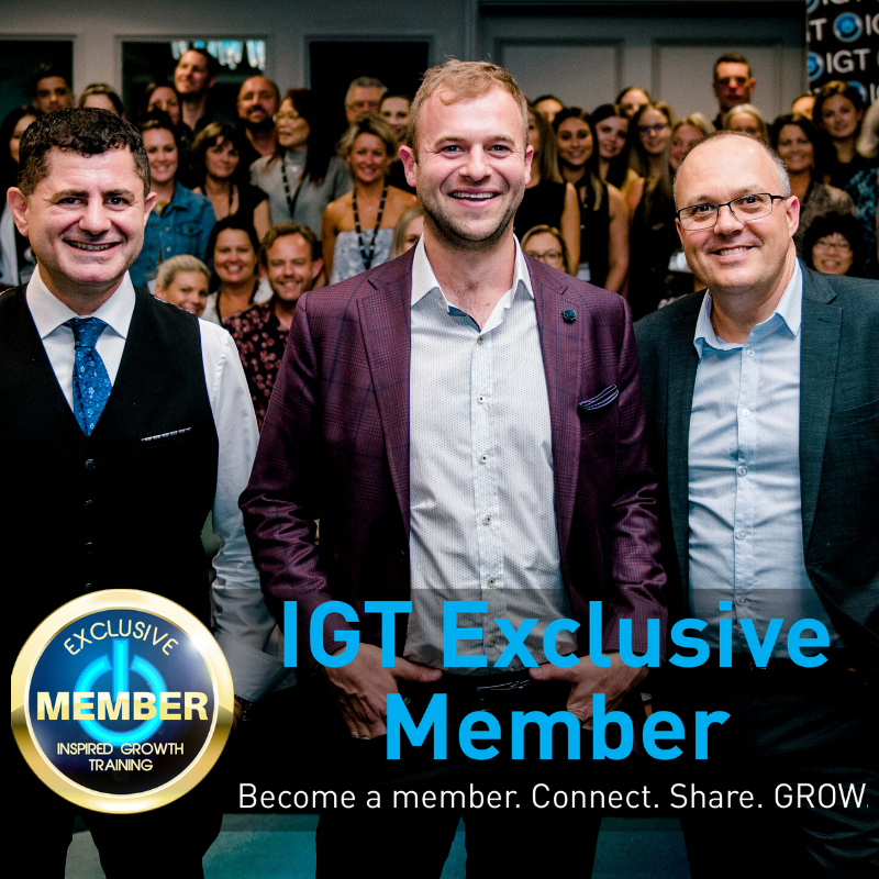Become an IGT Exclusive Member for property management sales training for BDMs