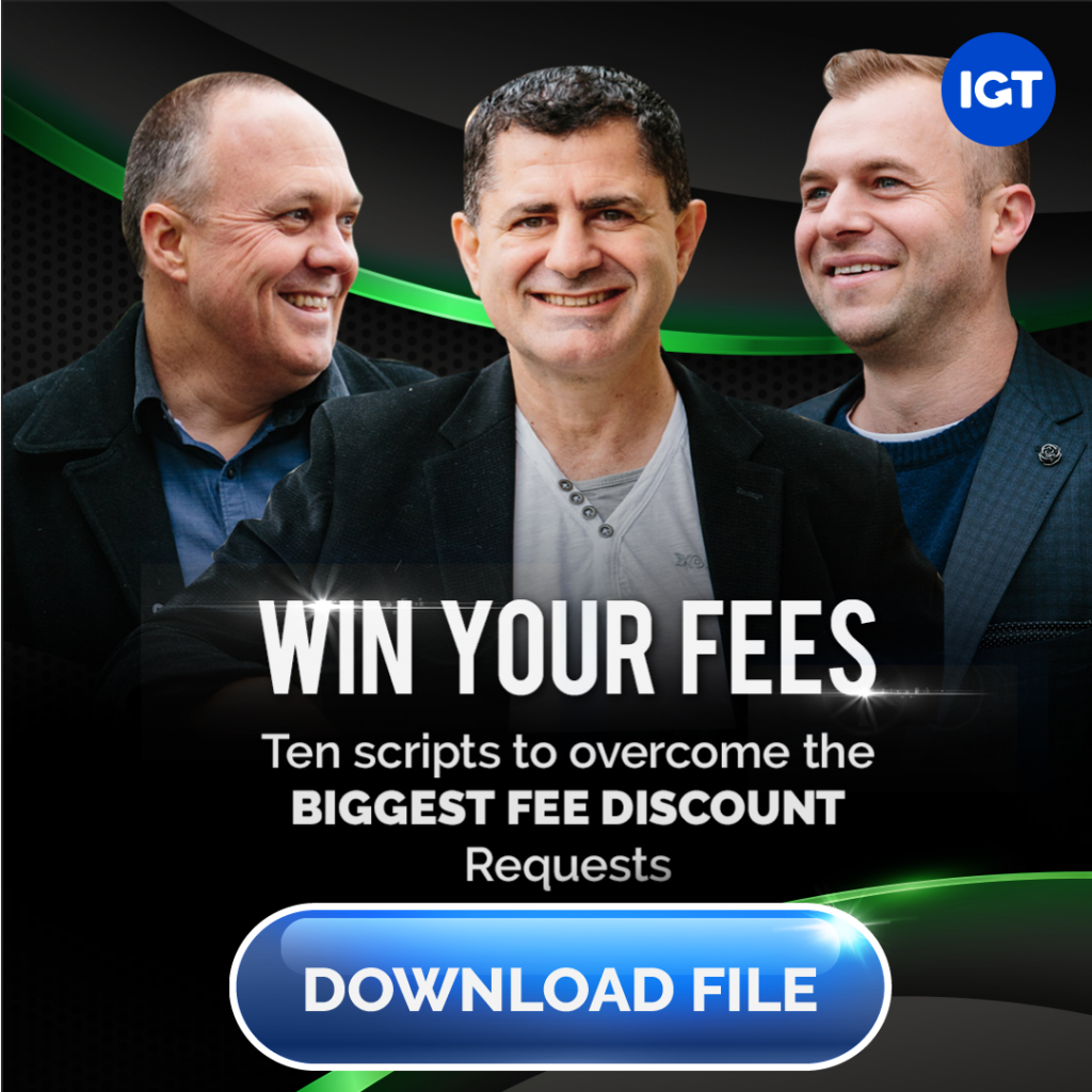 Win your fees with 10 scripts to overcome the biggest fee discount in your property management company