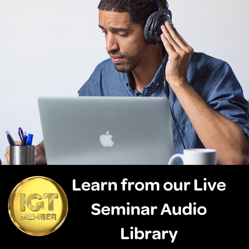 Get access to our library of live seminar recordings.