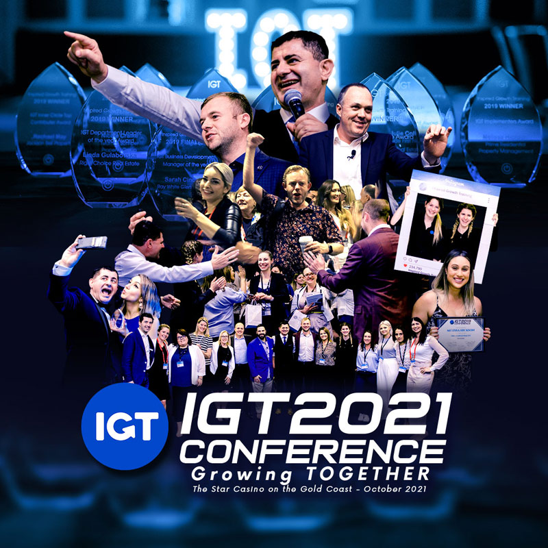IGT 2021 Conference for property managers and BDMs