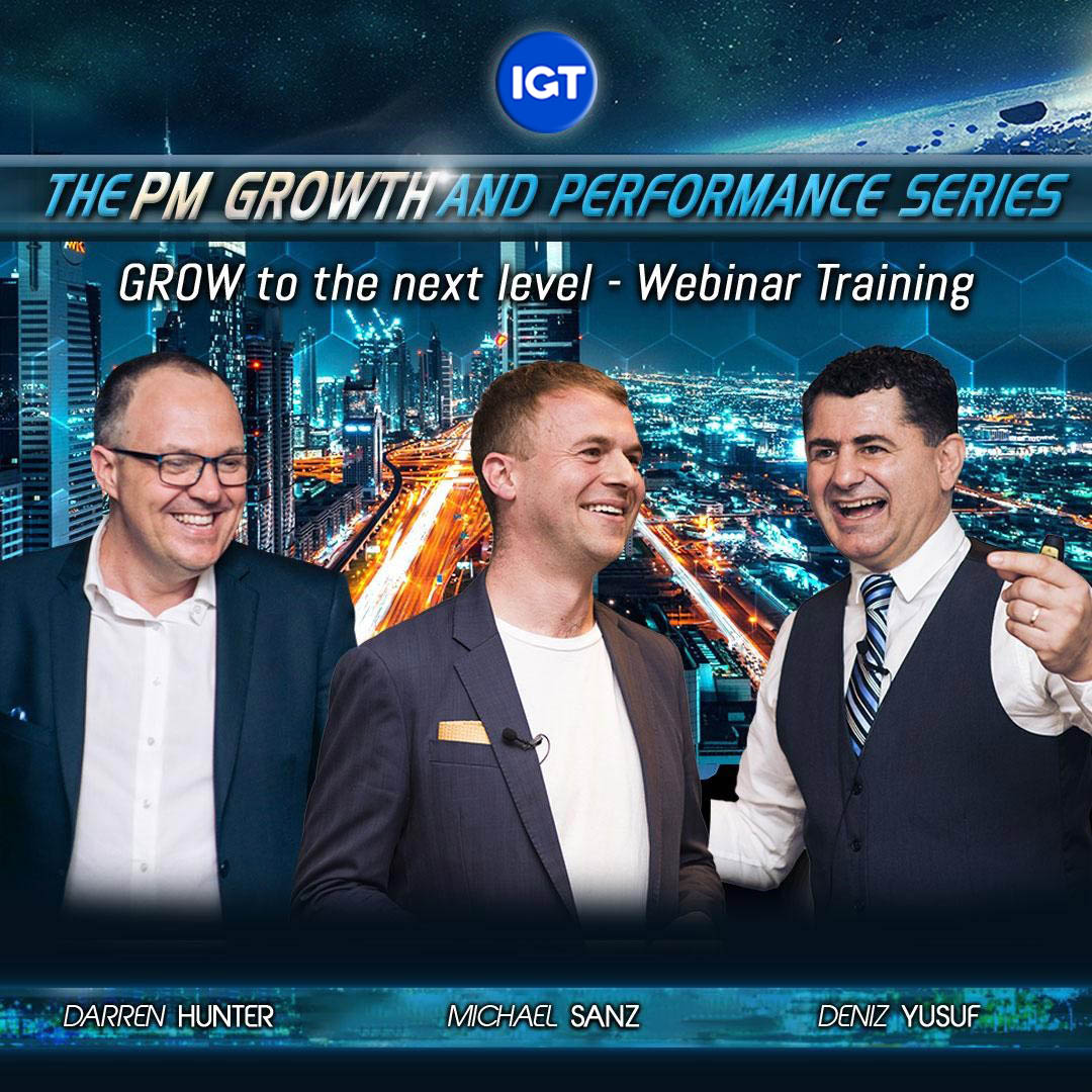 PM Growth and Performance Webinar Series
